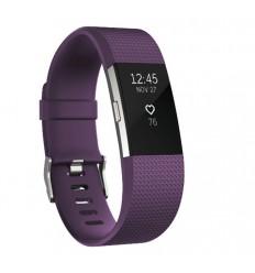 Pulsera Fitness Fitbit Charge 2 Ciruela FB407SPMS Talla S