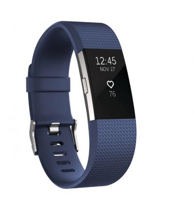 Pulsera Fitness Fitbit Charge 2 FB407SBUS Azul Talla S