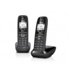 Telefono Inalambrico GIGASET AS405 DUO Negro