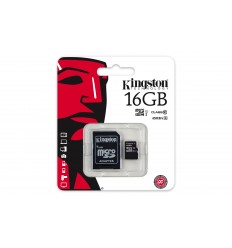 MicroSD KINGSTON CL10 16GB SDC10G2/16GB