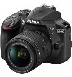 Cámara reflex Nikon D3400 18-55VR