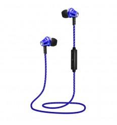 Auricular Lauson EH218 azul bluetooth