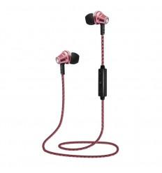 Auricular Lauson EH219 rosa bluetooth