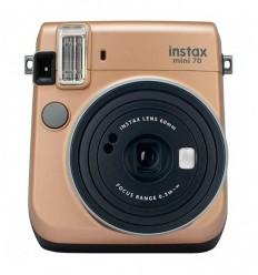 Cámara fotos Fijufilm Instax Mini 70 oro