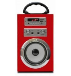 Altavoz Infiniton K8 Speaker Rojo+Micro
