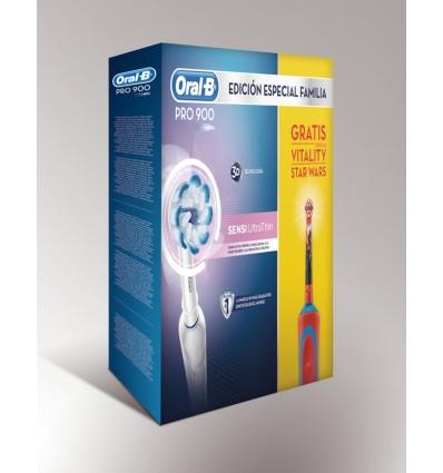 Pack cepillos dentales Oral-B PRO900 + Vitality Star Wars 76882b4ecdad