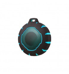 Sunstech SPBTAQUA Mono portable speaker 3W Negro, Azul