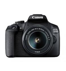 Canon EOS 2000D BK 18-55 IS II EU26 Juego de cámara SLR 24.1MP CMOS 6000 x 4000Pixeles Negro
