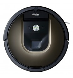 iRobot Roomba 980 aspiradora robotizada Sin bolsa Negro, Marrón 0,6 L