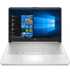 "HP 14s-dq1018ns Portátil 35,6 cm (14"") 1920 x 1080 Pixeles Intel® Core™ i7 de 10ma Generación 8 GB DDR4-SDRAM 256 GB SSD Wi-Fi 6 (802.11ax) Windows 10 Home Plata"