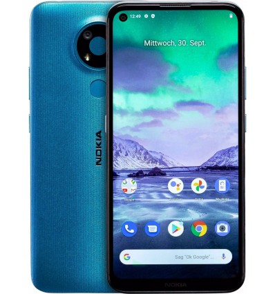 "Movil 6.39"" Nokia 3.4 4/64GB Azul"