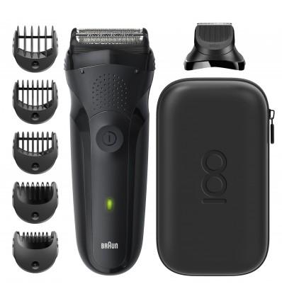 Braun Series 3 81728156 afeitadora Máquina de afeitar de láminas Recortadora Negro