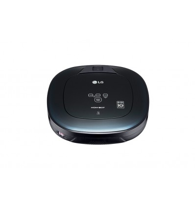 LG VR8600OB Sin bolsa 0.6L Negro aspiradora robotizada